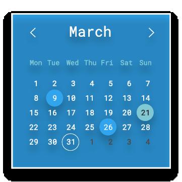 03_03 calendar slide home page inobeta